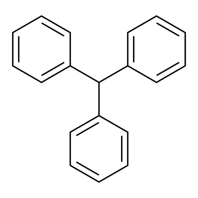 Triphenylmethane, 99+%, ACROS Organics™ 25g; Glass bottle Triphenylmethane, 99+%, ACROS Organics™