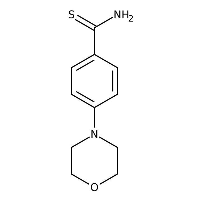 4-Morpholinobenzenecarbothioamide, 97%, Maybridge™: Morpholines Oxazinanes
