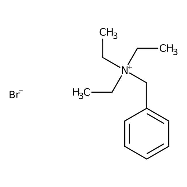 Benzyltriethylammonium bromide, 99%, ACROS Organics™: Benzene and substituted derivatives Benzenoids