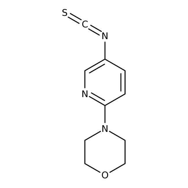 6-Morpholino-3-pyridinyl isothiocyanate, 97%, Maybridge™