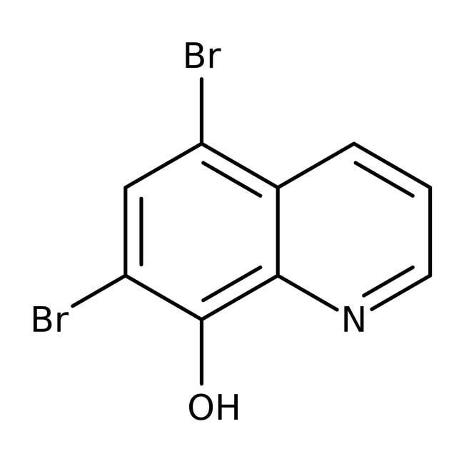 Alfa Aesar™5,7-Dibromo-8-hydroxyquinoline, 98%