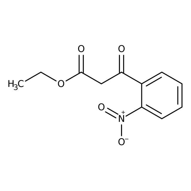Ethyl 2-nitrobenzoylacetate, 97%, ACROS Organics™