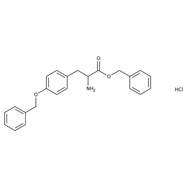 Alfa Aesar™O-Benzyl-L-tyrosine benzyl ester hydrochloride, 95% 5g Alfa Aesar™O-Benzyl-L-tyrosine benzyl ester hydrochloride, 95%