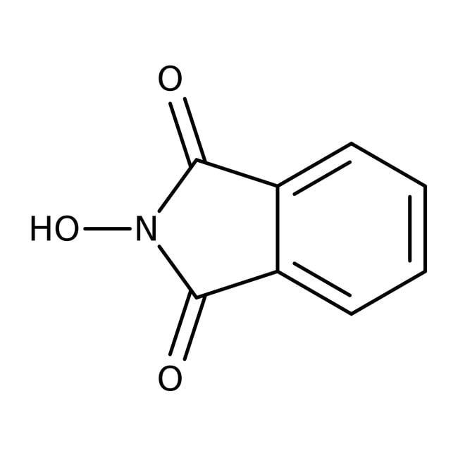 N-Hydroxyphthalimide, 98%, ACROS Organics™ 2.5kg, Plastic drum N-Hydroxyphthalimide, 98%, ACROS Organics™