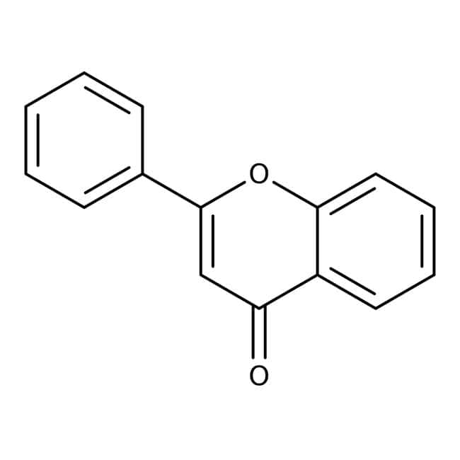 Flavone, 99+%, ACROS Organics™ 1g; Glass bottle Flavone, 99+%, ACROS Organics™