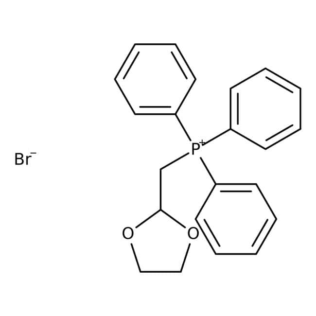 (1,3-Dioxolan-2-ylmethyl)triphenylphosphonium bromide, 98%, ACROS Organics