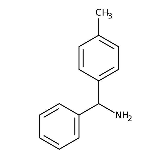 Alfa Aesar™Clorhidrato de 4-metilbenzhidrilamina, soportado por polímeros, 1% de entrecruzamiento, 100-200 mallas, 0,5-1mmol/g en PS-DVB 25g Ver productos