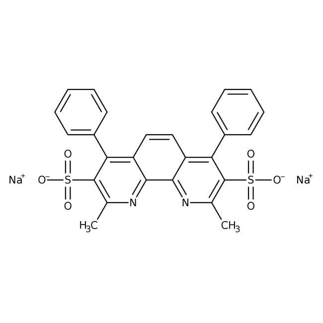 Bathocuproinedisulfonic acid, disodium salt hydrate, 97%, ACROS Organics™