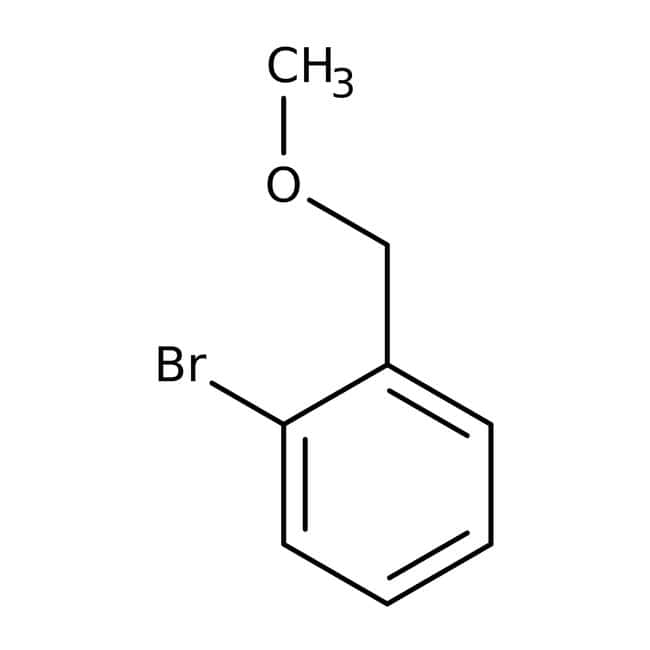1-Bromobenzyl methyl ether, 98%, ACROS Organics™ 25g; Glass bottle prodotti trovati
