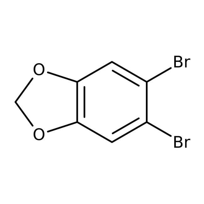 Alfa Aesar™1,2-Dibromo-4,5-(methylenedioxy)benzene, 98% 50g Alfa Aesar™1,2-Dibromo-4,5-(methylenedioxy)benzene, 98%
