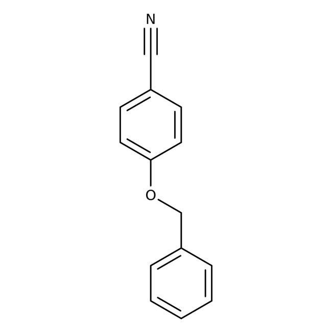 Alfa Aesar™4-Benzyloxybenzonitrile, 98 % 5g Alfa Aesar™4-Benzyloxybenzonitrile, 98 %