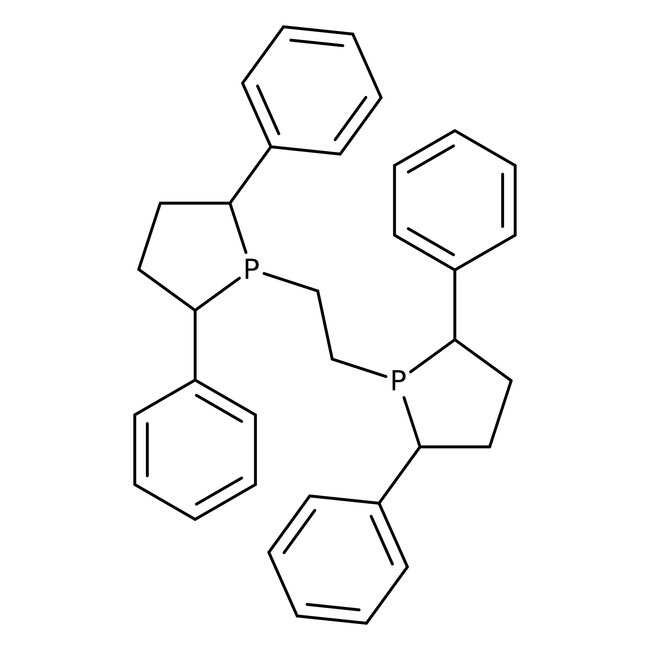 1,2-Bis[(2R,5R)-2,5-diphenyl-1-phospholanyl]ethane, 97+%, Alfa Aesar™