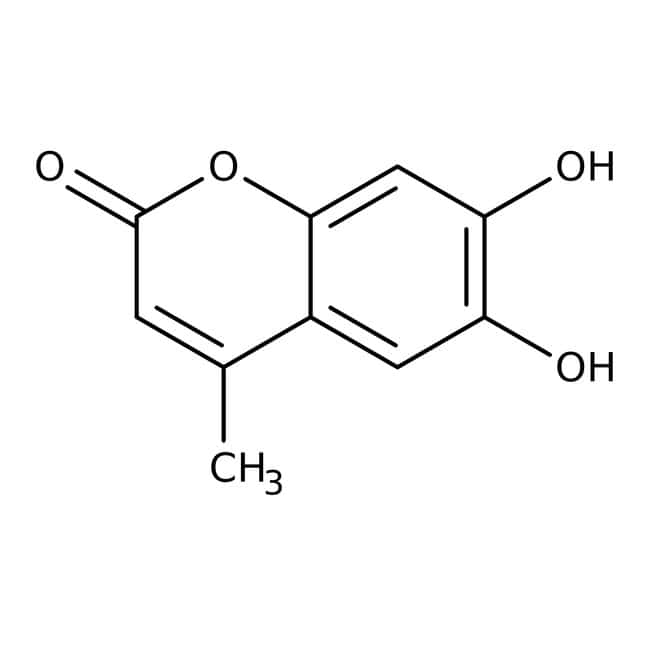 Alfa Aesar™ 6,7-Dihydroxy-4-methylcoumarin, 97%: Hydroxycoumarins Coumarins and derivatives