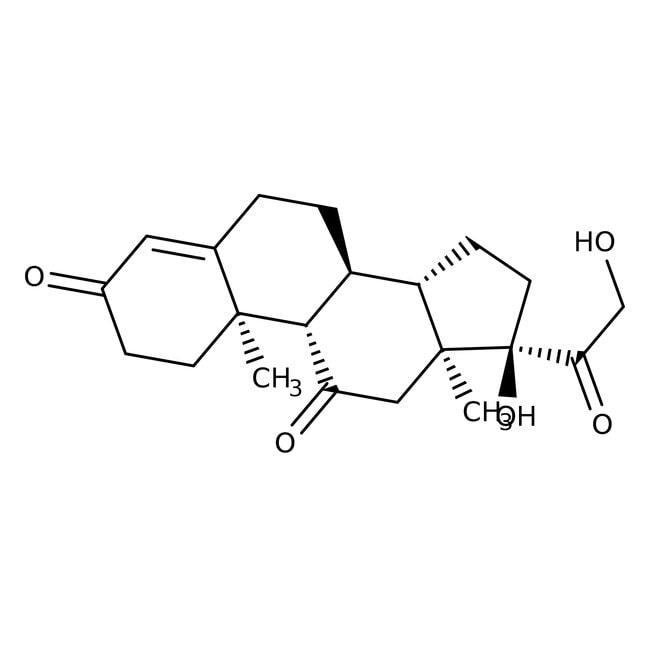 Cortisone, 98%, ACROS Organics™ 250mg Cortisone, 98%, ACROS Organics™