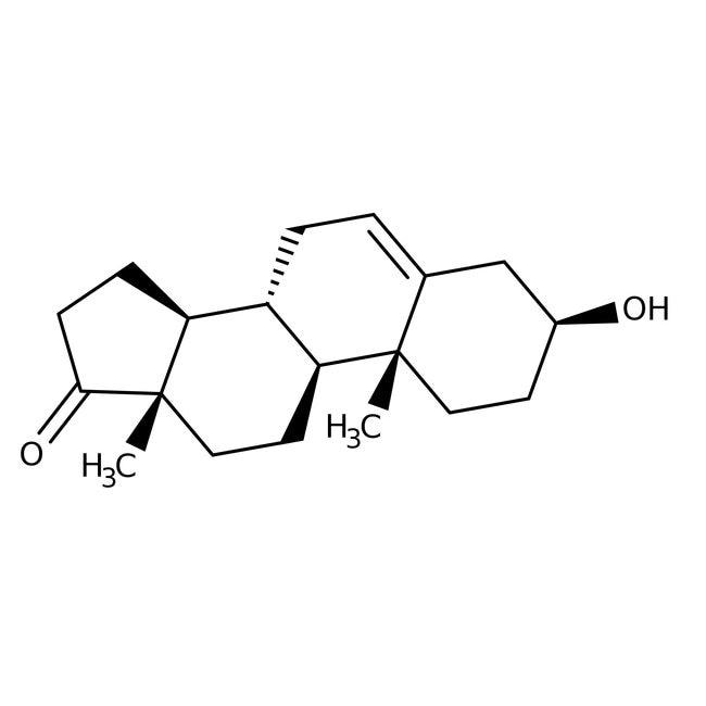 (+)-Dehydroisoandrosterone, 99%, ACROS Organics