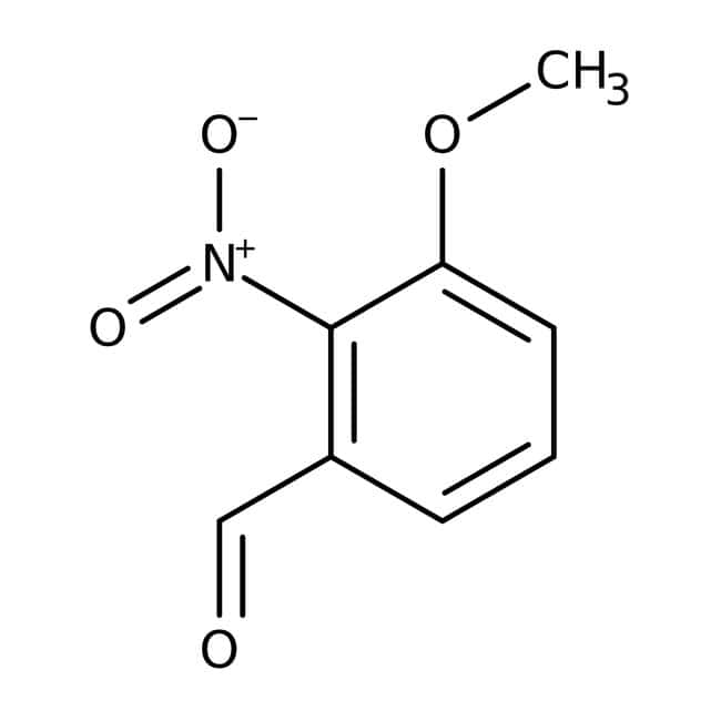 3-Methoxy-2-nitrobenzaldehyde, 97%, ACROS Organics™