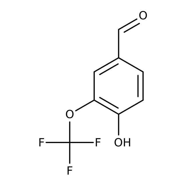 Alfa Aesar™4-Hydroxy-3-(trifluormethoxy)benzaldehyd, +98% 250mg Alfa Aesar™4-Hydroxy-3-(trifluormethoxy)benzaldehyd, +98%