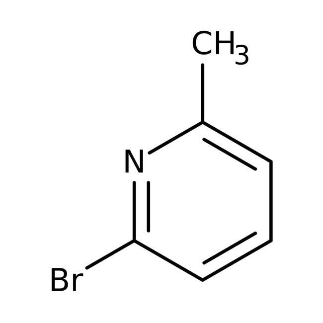 6-Bromo-2-picoline, 97%, ACROS Organics™ 1g; Glass bottle 6-Bromo-2-picoline, 97%, ACROS Organics™