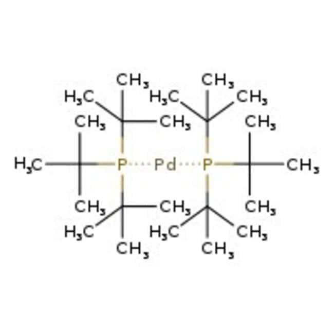 Alfa Aesar™Bis(tri-tert-butylphosphine)palladium(0), Pd 20.9% 1g Alfa Aesar™Bis(tri-tert-butylphosphine)palladium(0), Pd 20.9%