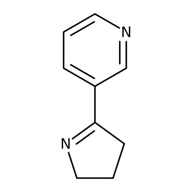 Alfa Aesar™Myosmine, 98%, may contain up to 2% water 500mg Alfa Aesar™Myosmine, 98%, may contain up to 2% water