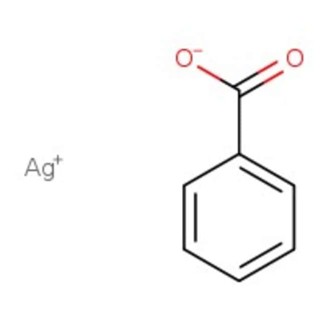 Silver benzoate, 99%, ACROS Organics™