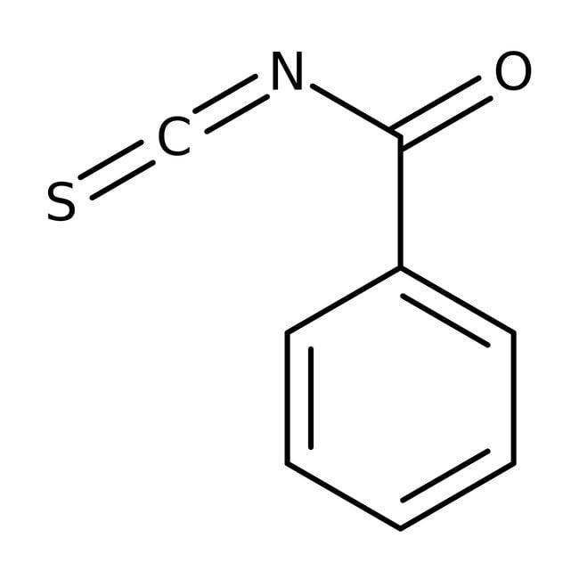 Benzoyl isothiocyanate, 98%, ACROS Organics™ 5g; Glass bottle Benzoyl isothiocyanate, 98%, ACROS Organics™