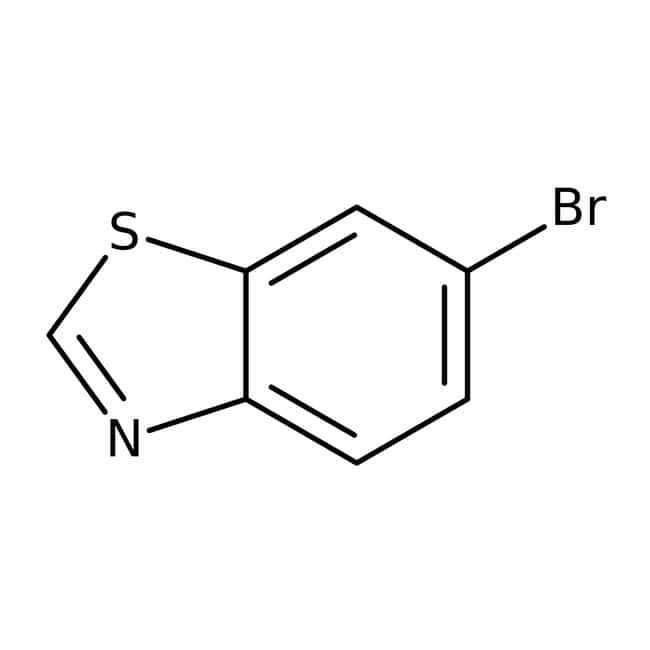 6-Brom-1,3-Benzothiazol, 97%, Maybridge Braunglasflasche, 1g 6-Brom-1,3-Benzothiazol, 97%, Maybridge
