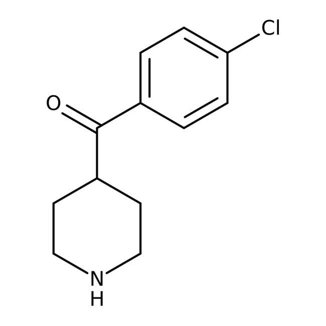 Alfa Aesar™4-(4-Chlorobenzoyl)piperidine, 97% 1g Alfa Aesar™4-(4-Chlorobenzoyl)piperidine, 97%