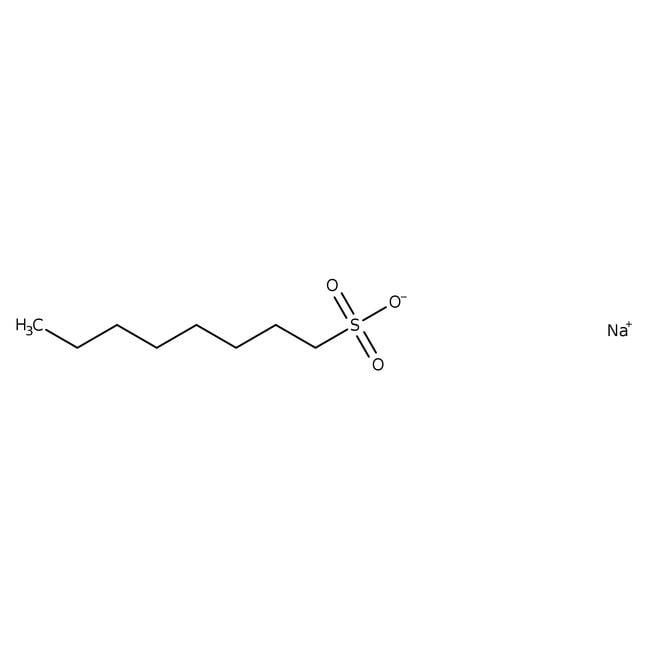1-Octanesulfonic Acid Sodium Salt, HPLC Grade, J.T.Baker™ 25g; Wide Mouth Amber Glass Bottle 1-Octanesulfonic Acid Sodium Salt, HPLC Grade, J.T.Baker™