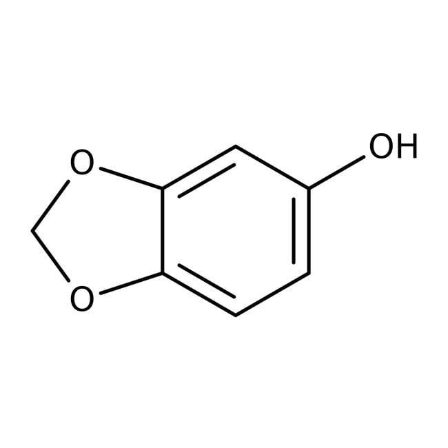Sesamol, 98%, ACROS Organics™ 5g; Glass bottle Sesamol, 98%, ACROS Organics™