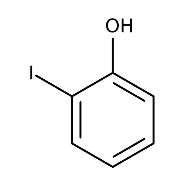 2-iodophénol, 98%, Acros Organics 100g; flacon en verre 2-iodophénol, 98%, Acros Organics