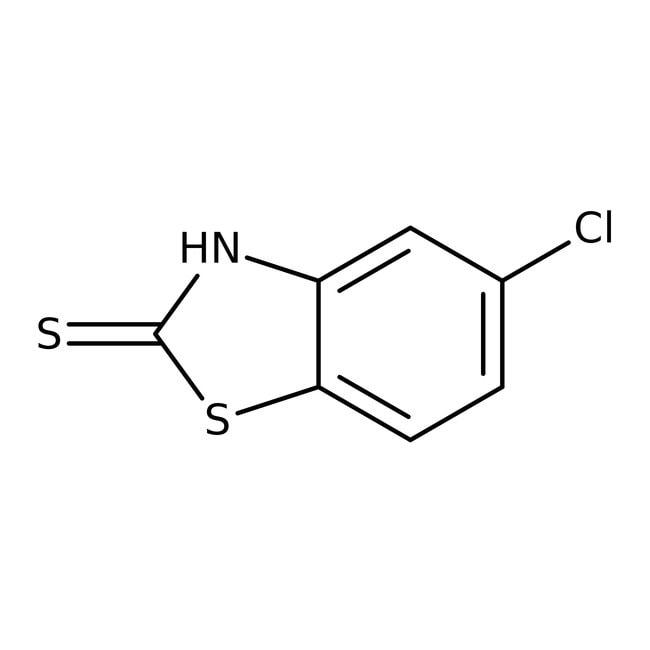 Alfa Aesar™5-Chloro-2-mercaptobenzothiazole, 98% 25g Alfa Aesar™5-Chloro-2-mercaptobenzothiazole, 98%