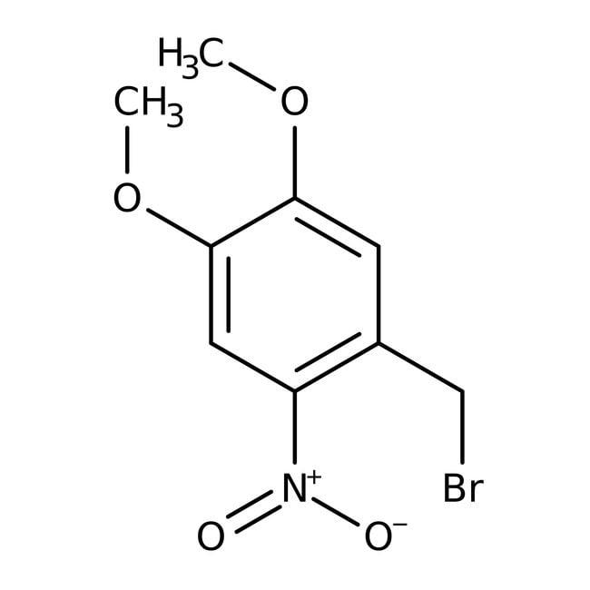 4,5-Dimethoxy-2-nitrobenzyl bromide, 97%, ACROS Organics™