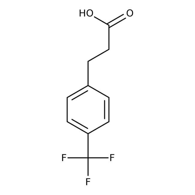 4-(Trifluoromethyl)hydrocinnamic acid, 95%, ACROS Organics™