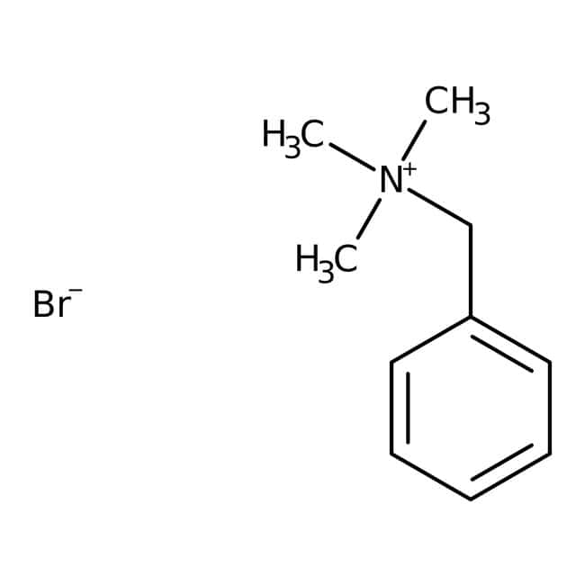 Benzyltrimethylammonium bromide, 98+%, ACROS Organics