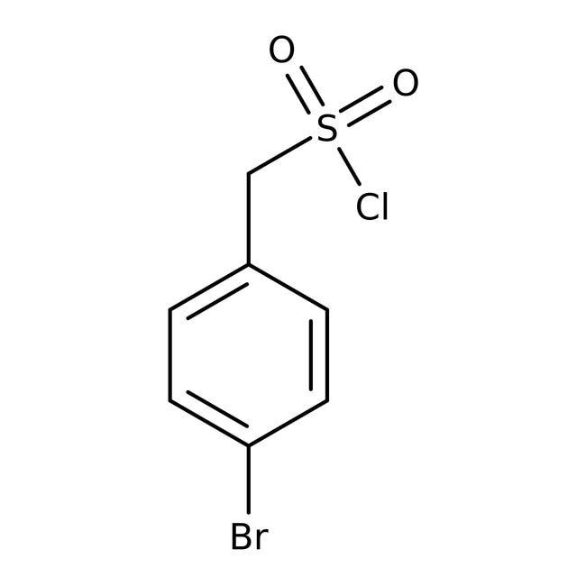 4-Bromobenzylsulfonyl chloride, 95%, ACROS Organics™ 25g 4-Bromobenzylsulfonyl chloride, 95%, ACROS Organics™