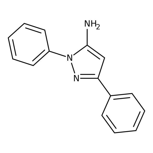 1,3-Diphenyl-1H-pyrazol-5-amine, 97%, Maybridge™: Organoheterocyclic compounds Organic Compounds