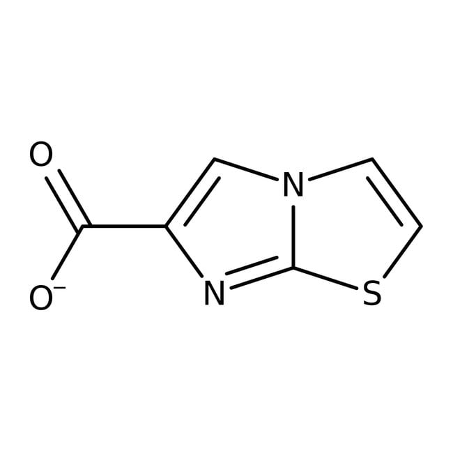 Imidazo[2,1-b][1,3]thiazole-6-carboxylic acid, ≥97%, Maybridge Amber Glass Bottle; 1g Imidazo[2,1-b][1,3]thiazole-6-carboxylic acid, ≥97%, Maybridge