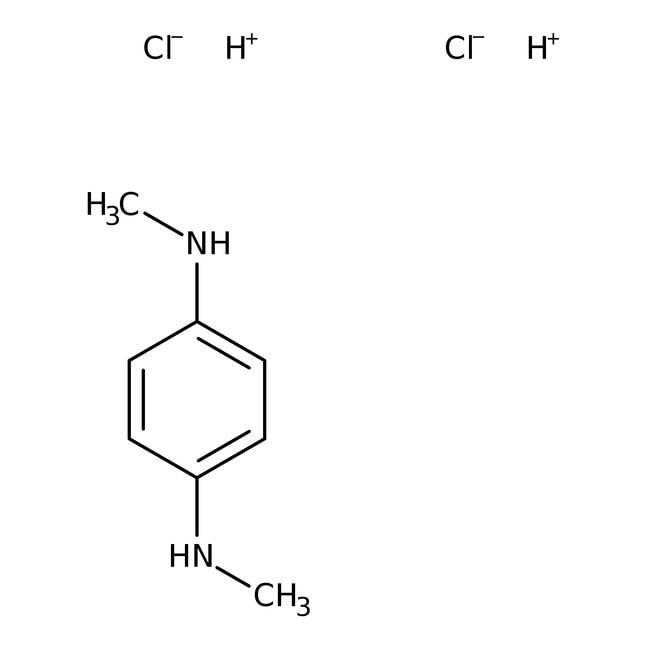 N,N-Dimethyl-p-phenylenediamine dihydrochloride, 99%, ACROS Organics™ 100g; Glass bottle N,N-Dimethyl-p-phenylenediamine dihydrochloride, 99%, ACROS Organics™