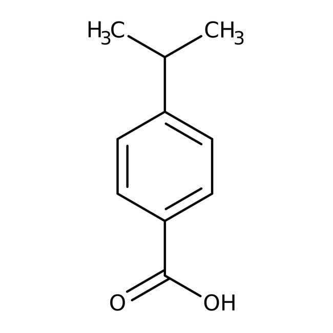 Alfa Aesar™4-Isopropylbenzoic acid, 99%: Monoterpenoids Prenol lipids