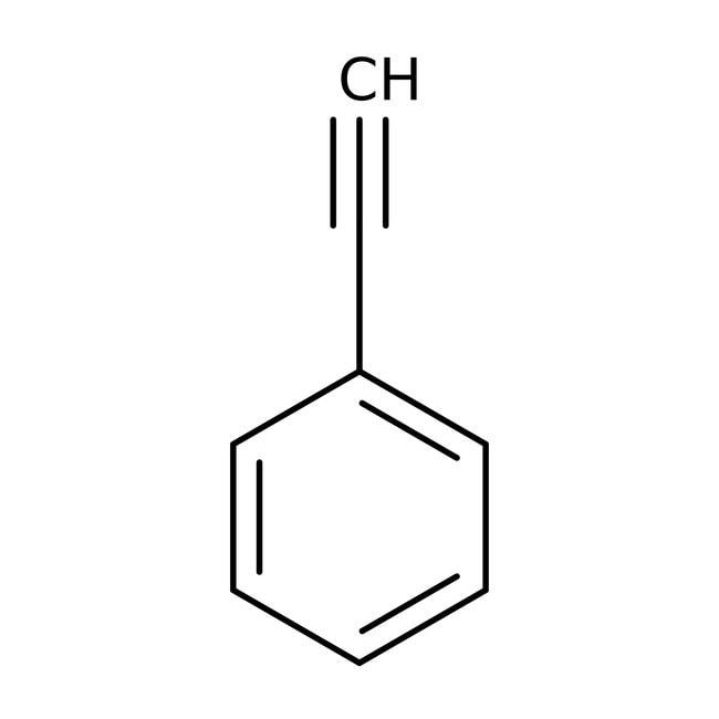 Phenylacetylene, 98%, pure, ACROS Organics™