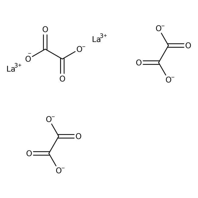 Alfa Aesar™Oxalate de lanthane(III) décahydraté, REacton™, 99,99% (REO) 50g Alfa Aesar™Oxalate de lanthane(III) décahydraté, REacton™, 99,99% (REO)