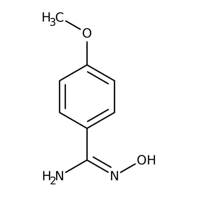 Alfa Aesar™4-Methoxybenzamidoxime, 97% 5g Alfa Aesar™4-Methoxybenzamidoxime, 97%