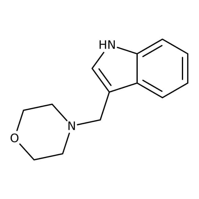 Alfa Aesar™3-(4-Morpholinylmethyl)indole, 95% 1g Alfa Aesar™3-(4-Morpholinylmethyl)indole, 95%