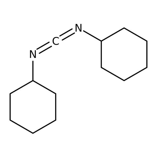 N,N'-Diccyclohexylcarbodiimide, 99%, ACROSOrganics™ 100g; flacon en verre N,N'-Diccyclohexylcarbodiimide, 99%, ACROSOrganics™