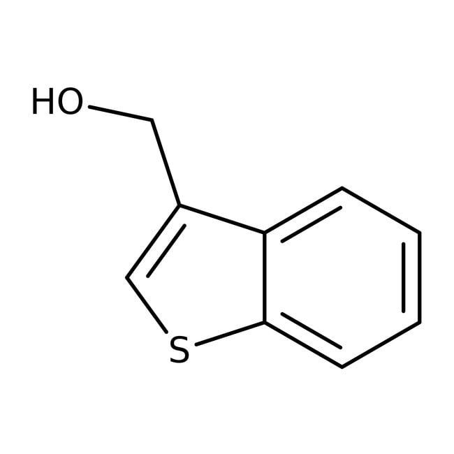 1-Benzothiophen-3-ylmethanol, 97%, Maybridge