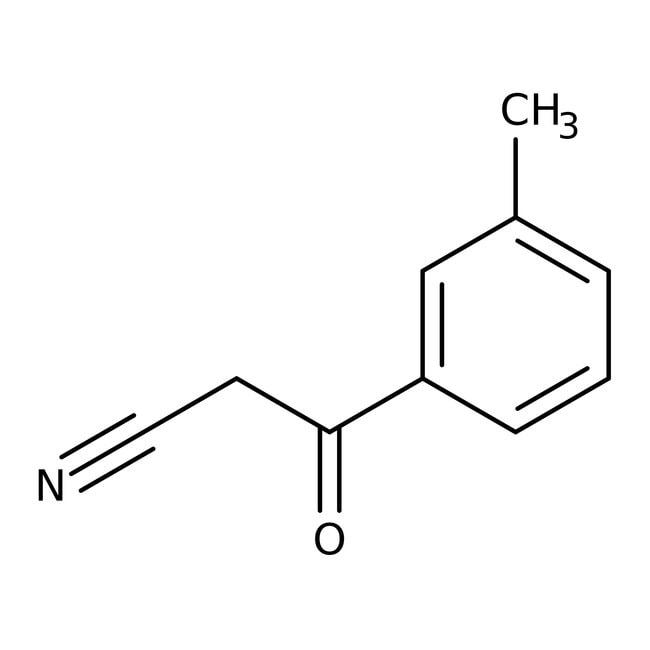 3-(3-Methylphenyl)-3-oxopropanenitrile, 97%, Maybridge™ Amber Glass Bottle; 1g 3-(3-Methylphenyl)-3-oxopropanenitrile, 97%, Maybridge™