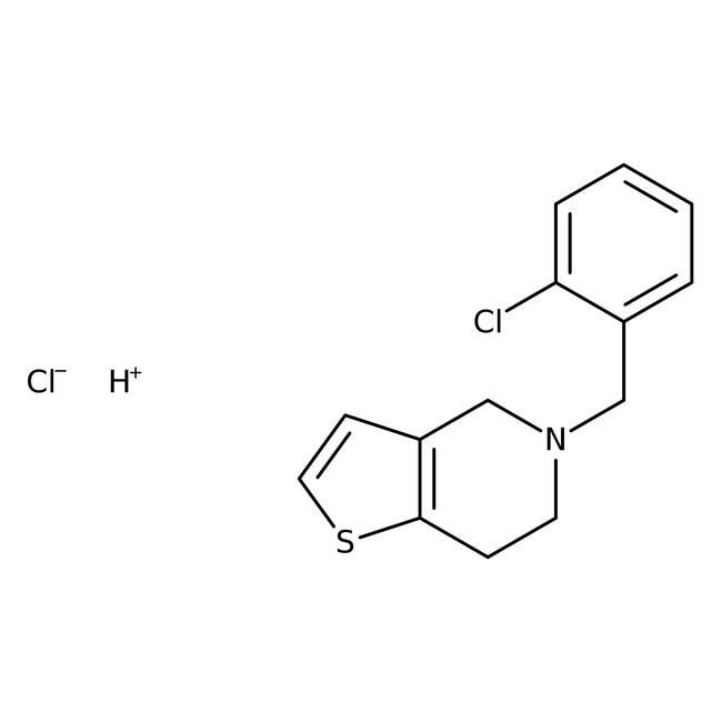 Ticlopidine hydrochloride, 99%, MilliporeSigma Supelco:Buffers and Standards:Chromatography