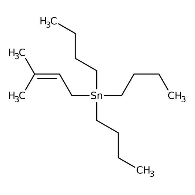 Alfa Aesar  Tri-n-butyl(3-methyl-2-butenyl)tin, 95%