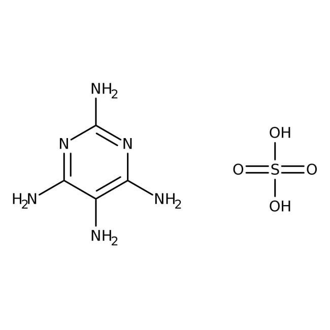 2,4,5,6-Tetraaminopyrimidine sulfate hydrate, 98%, ACROS Organics